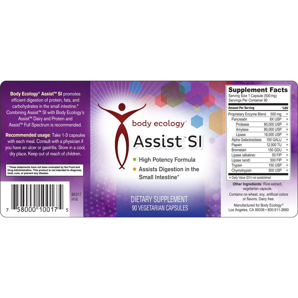 body-ecology-canada-assist-si-label
