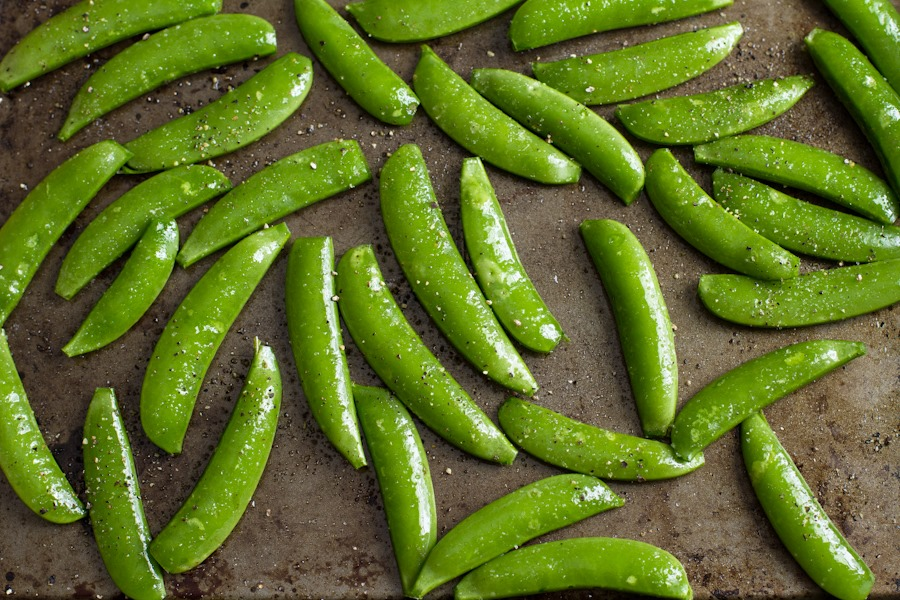 how to make snap pea crisps