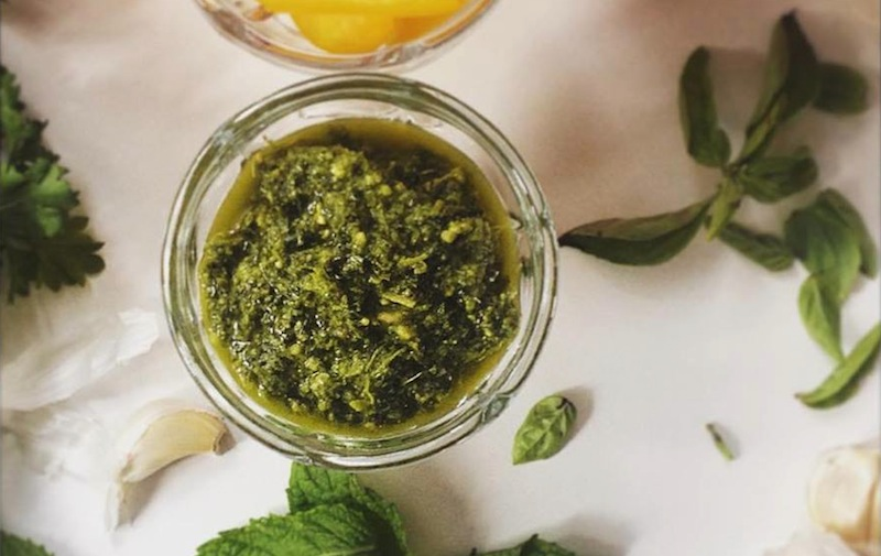 Summer Pesto Vegan