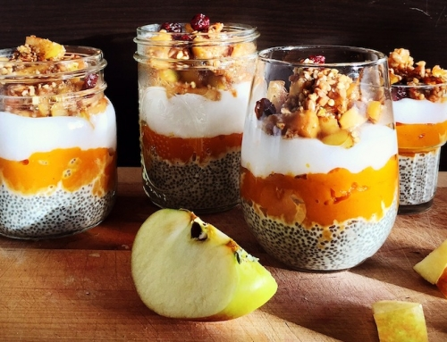 Try Katie's Pumpkin Chia Yogurt Parfait! (Vegan)