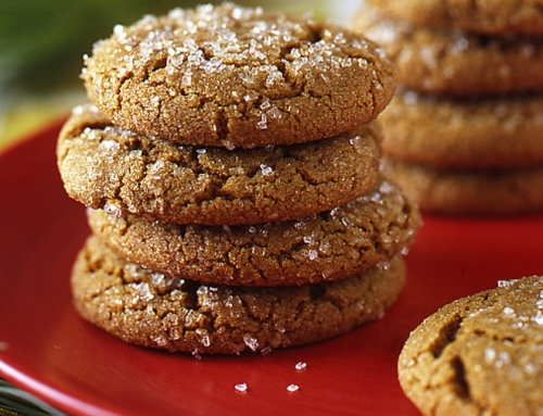 Gluten-Free Spiced Holiday Ginger Cookies (dairy free)