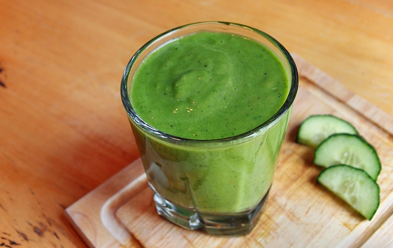 dill green smoothie sleep