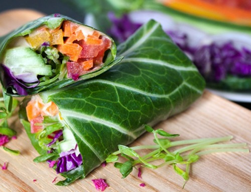 Collard Green Taco Party (With Beluga Lentils and Baked Chili Yams)
