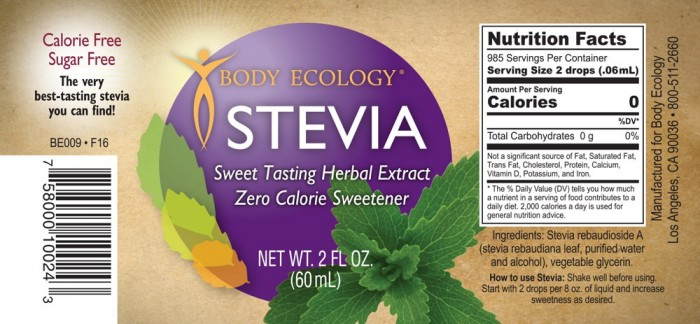 body-ecology-canada-stevia-liquid-concentrate-label