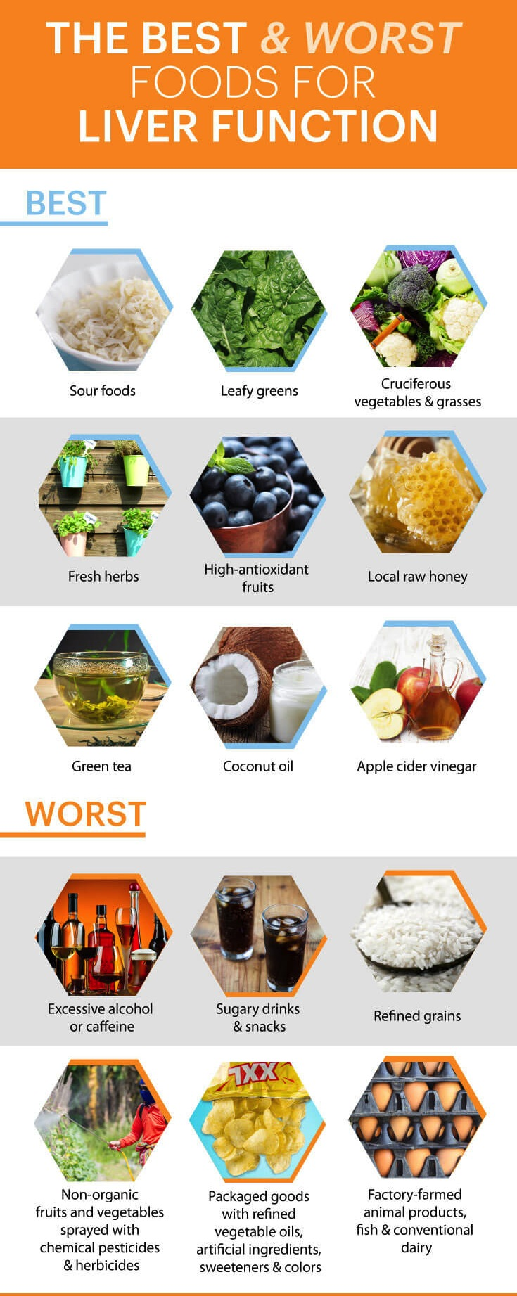 Best Foods To Improve Liver Function